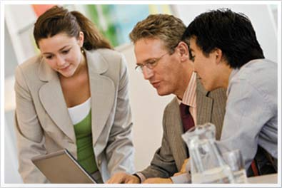 People collaborating